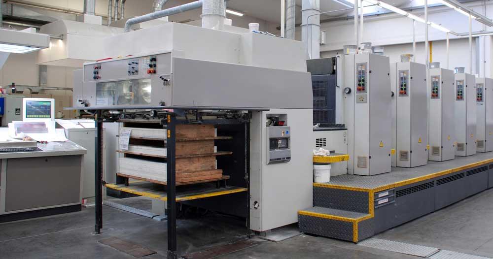 Suivi de fabrication dans une imprimerie offset