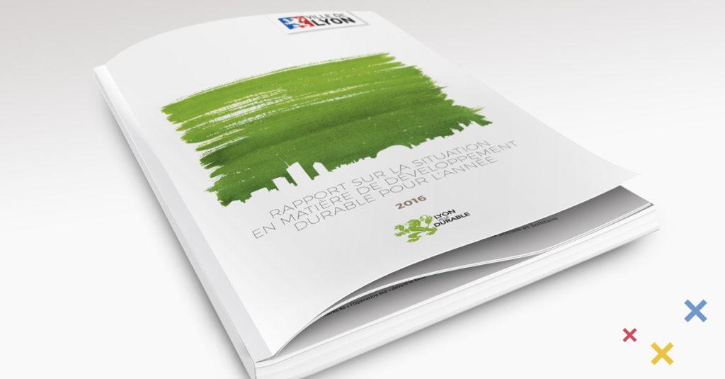 Mise en page de catalogues et rapports d'activité à Lyon Auvergne Rhône-Alpes