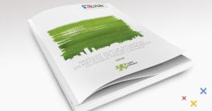 Mise en page de catalogues - exéfree - Couverture dos carré collé d'un rapport d'activité